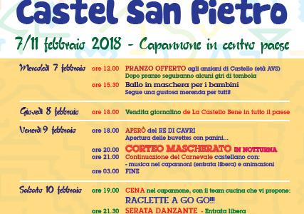 Programma Carnevaa di Cavri 2018