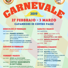 Programma Carnevaa di Cavri 2019