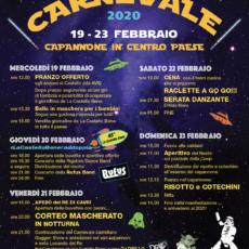 Programma Carnevaa di Cavri 2020